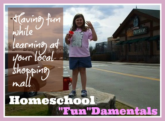 """FUN""DAMENTALS – Homeschooling Activities for a Shopping Mall"