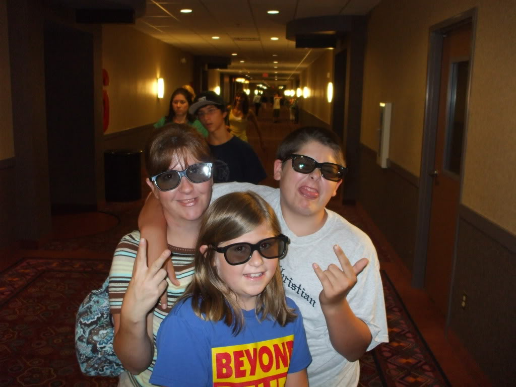 Seeing Our First 3D Movie Together