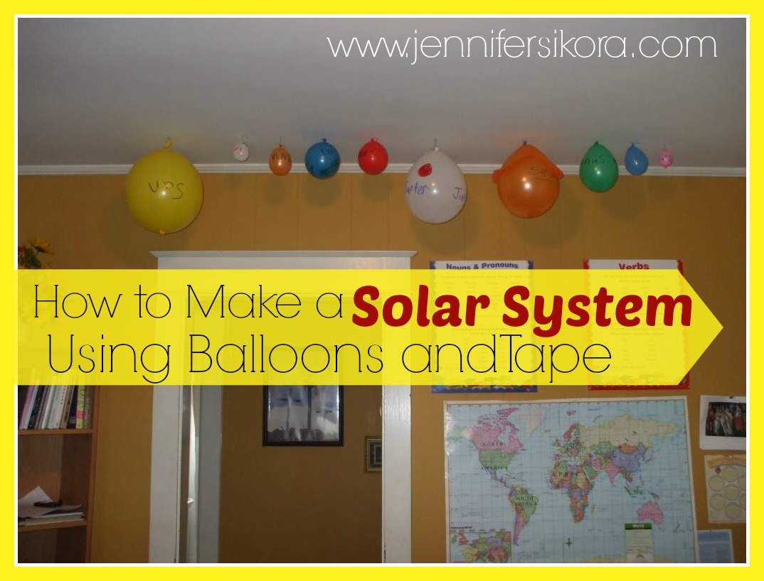 How to Make a Solar System Out of Balloons