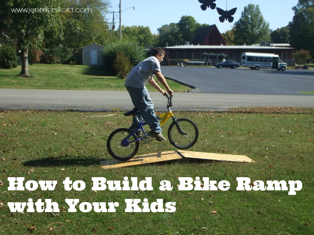 How to Build a Bike Ramp With Your Kids
