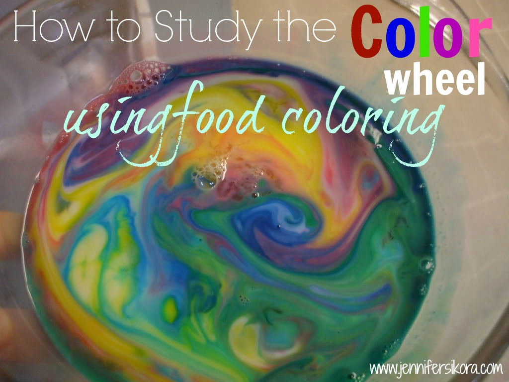 How to Use Food Coloring to Learn About the Color Wheel