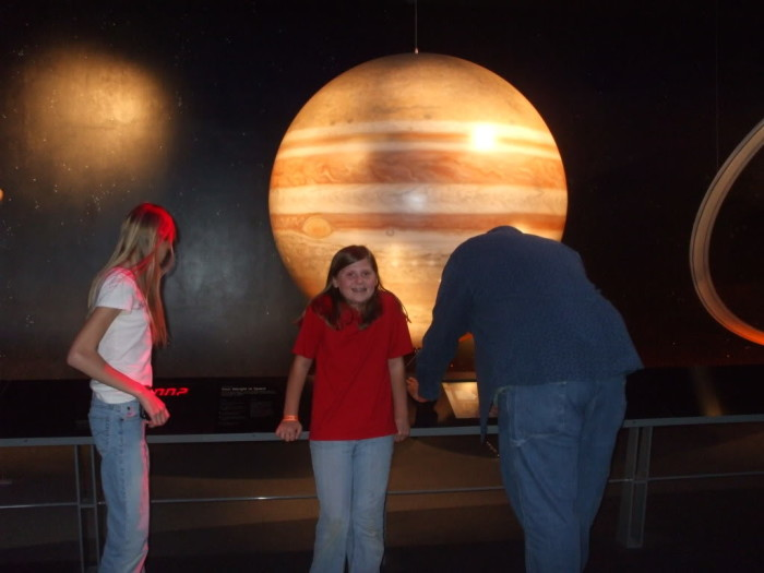 Kayla and the planets