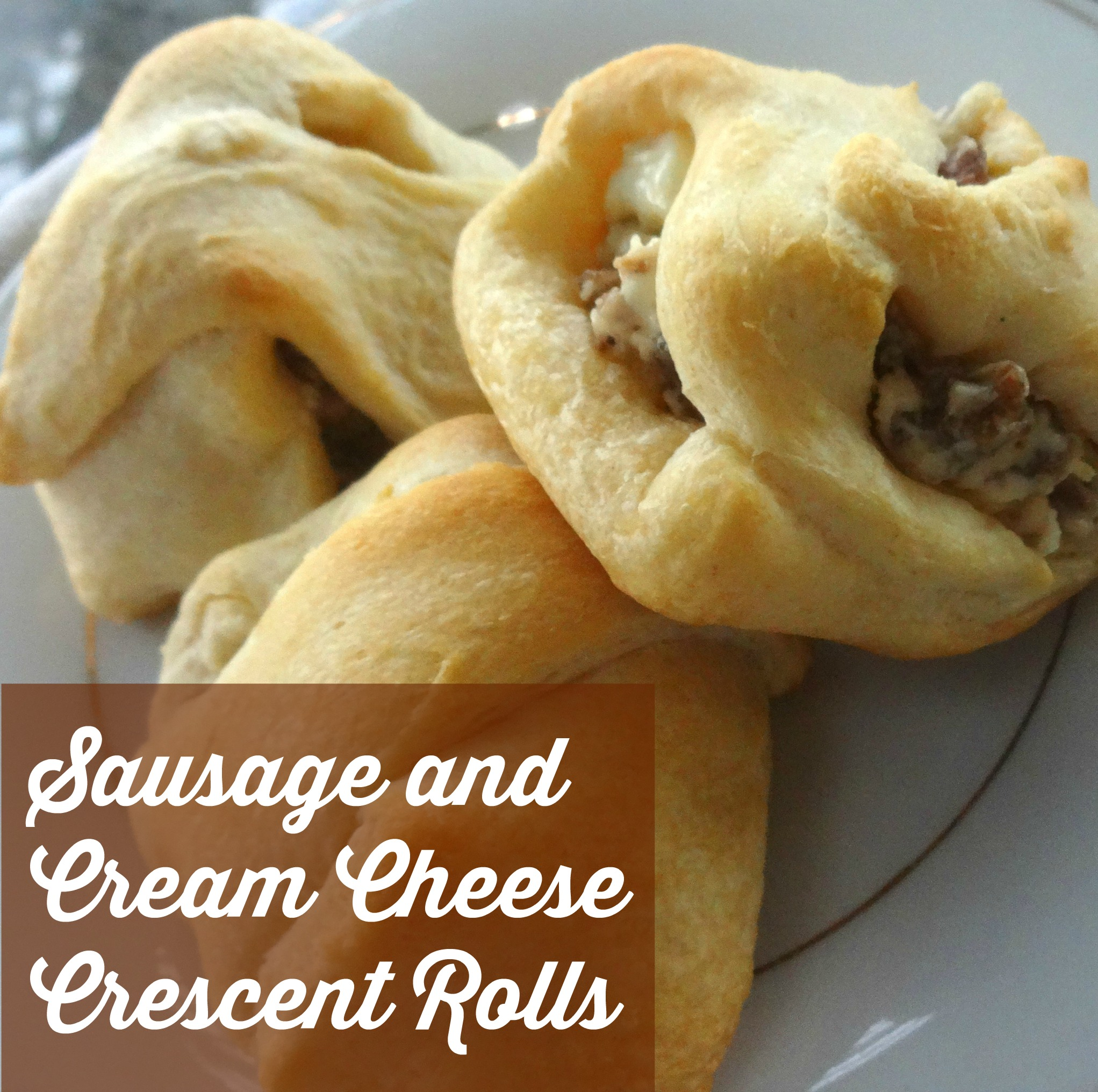 Cream Cheese Sausage Rolls