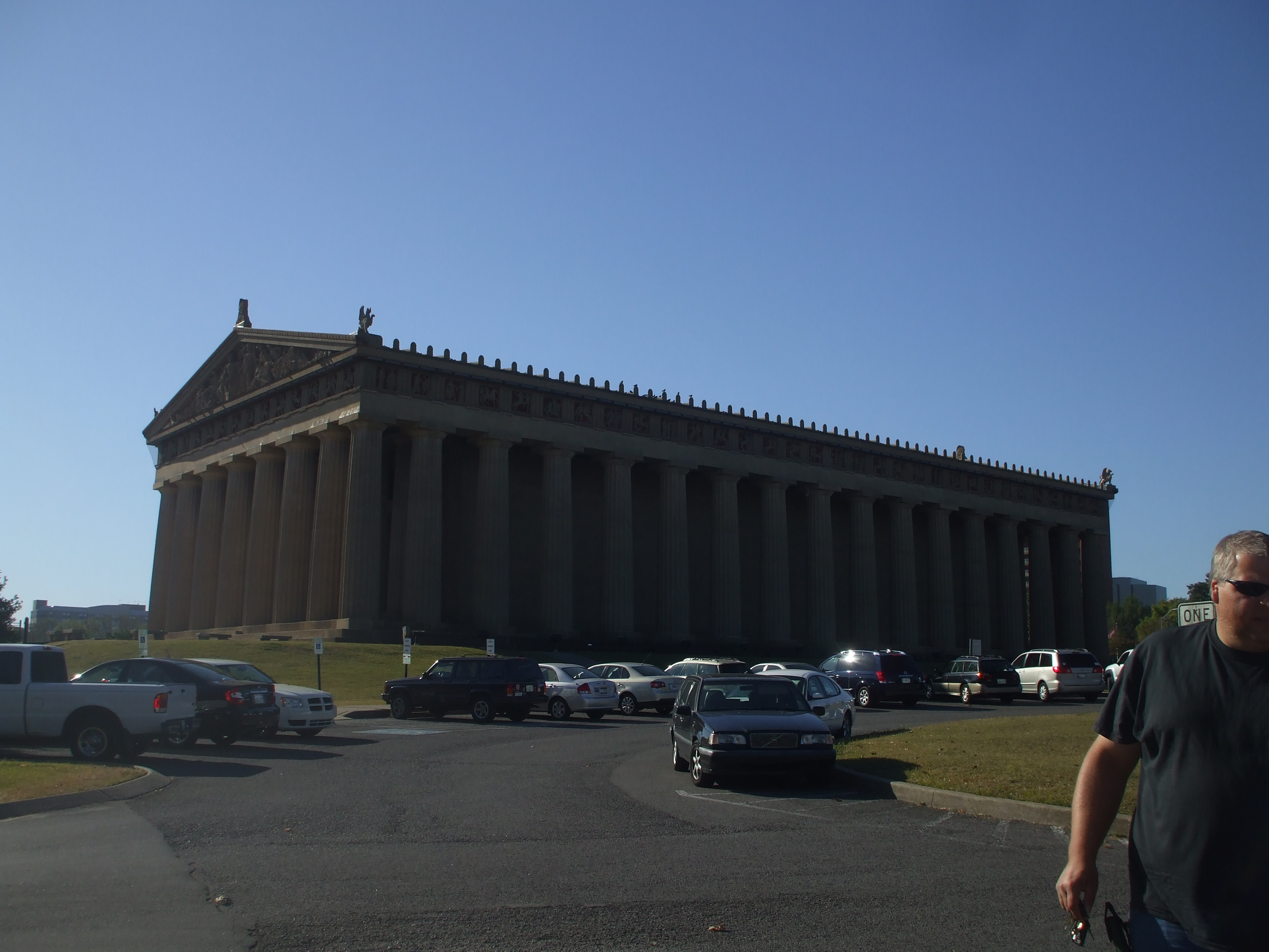 Our Visit to the Parthenon