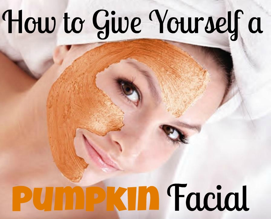 How to Give Yourself a Pumpkin Facial