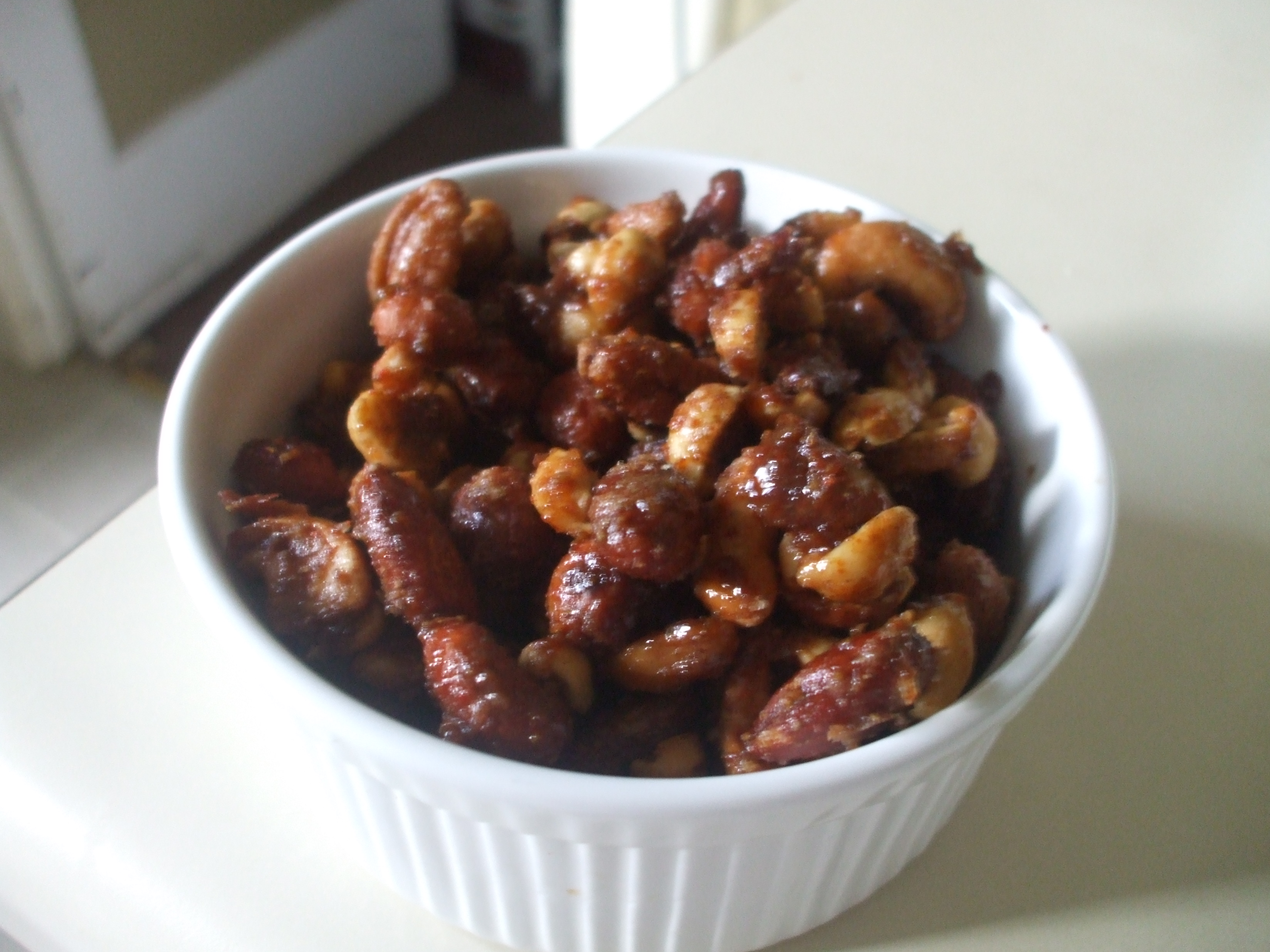 Sweet and Spicy Mixed Nuts + Some Great News!