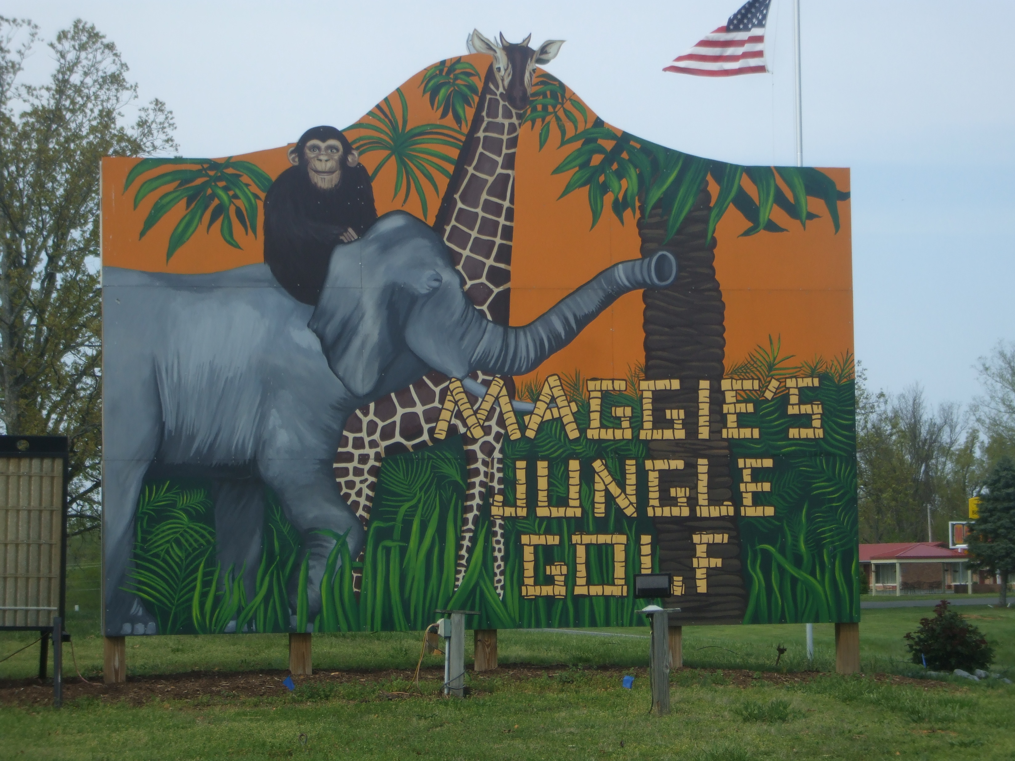 Maggie's Jungle Golf at LBL~You Have To Go!