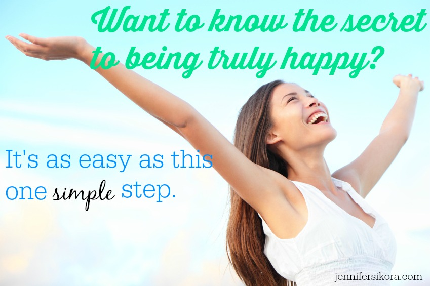 What Makes You Happy and the Little Secret We All Need to Know