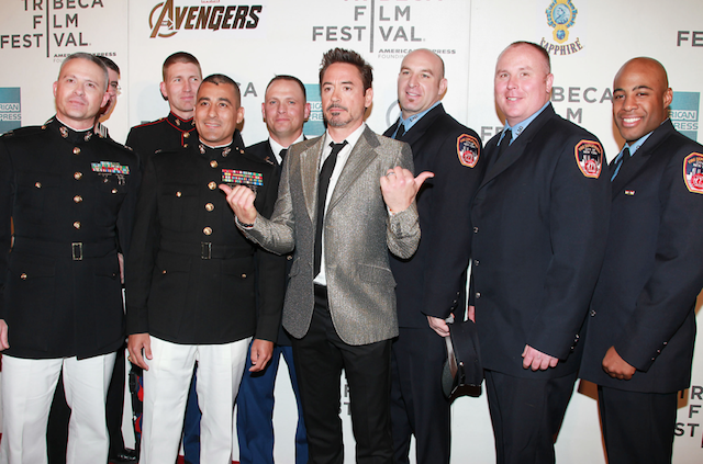 The Real Superheroes of NYC are Honored by The Avengers at the Tribeca Film Festival