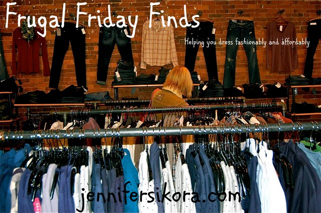Thrift Store Fashion Finds~Can You Be Frugal and Still Be Fashionable?