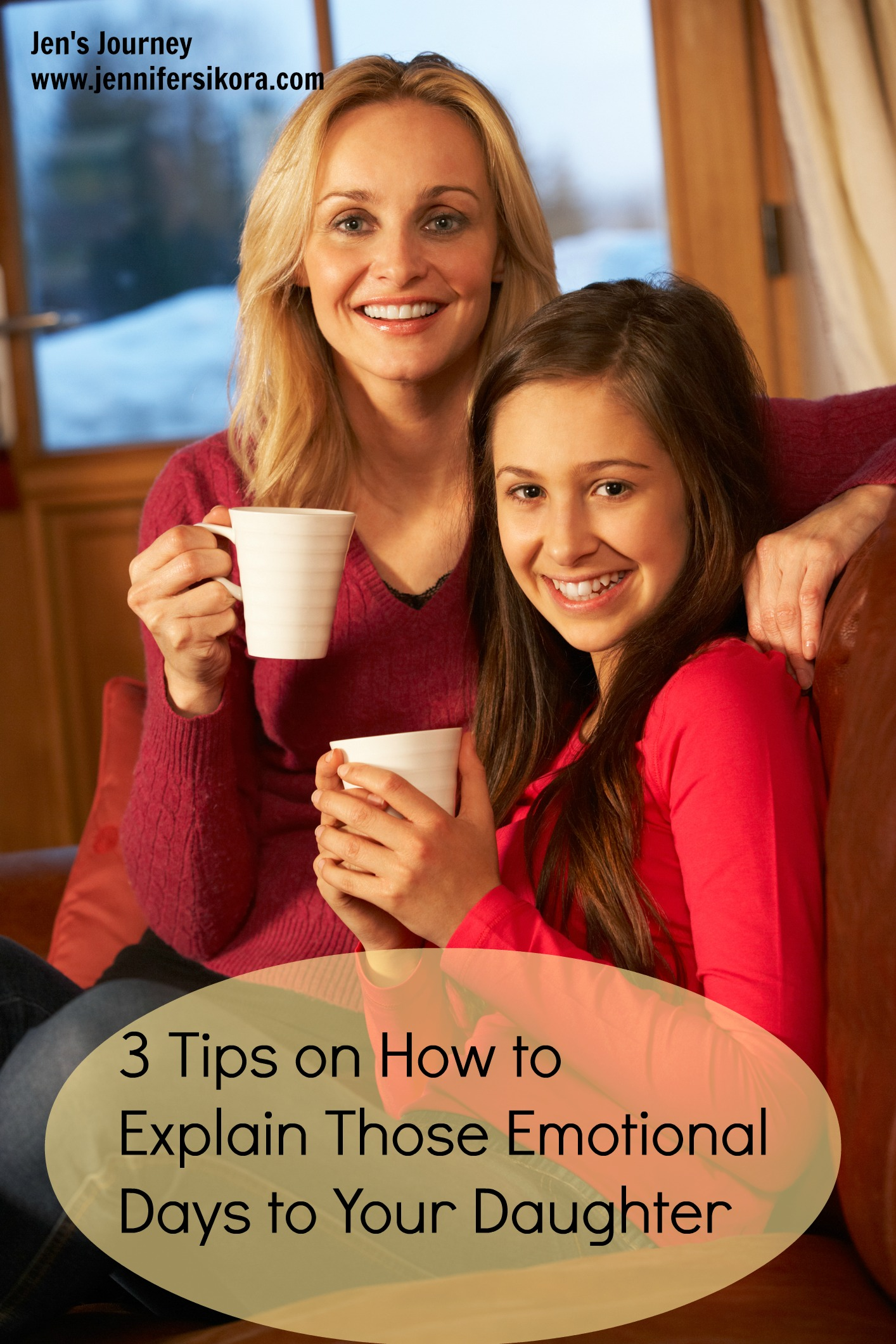 3 Tips on Explaining Those Emotional Days to Your Daughter #ad