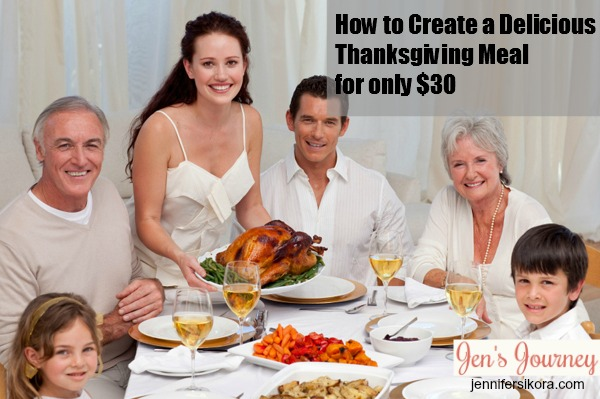 How to Create a Beautiful Thanksgiving Dinner for only $30
