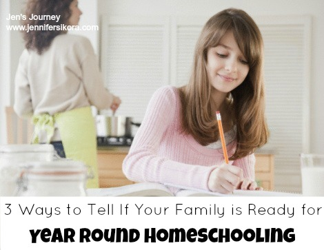 How Do I Know If Year Round Homeschooling is Right For My Family?
