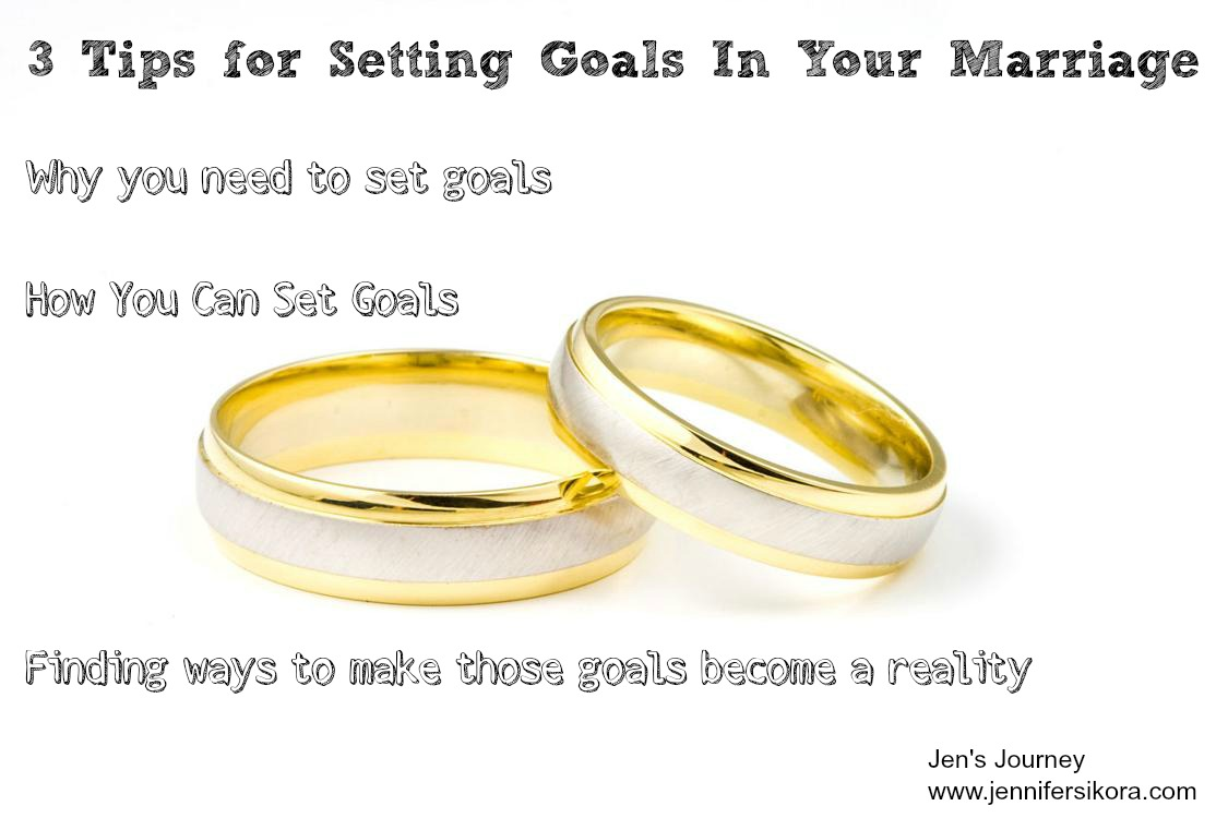 Monday Marriage Talks: Setting Goals for the New Year