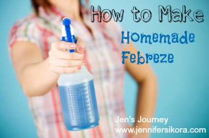 How to Make Homemade Febreze