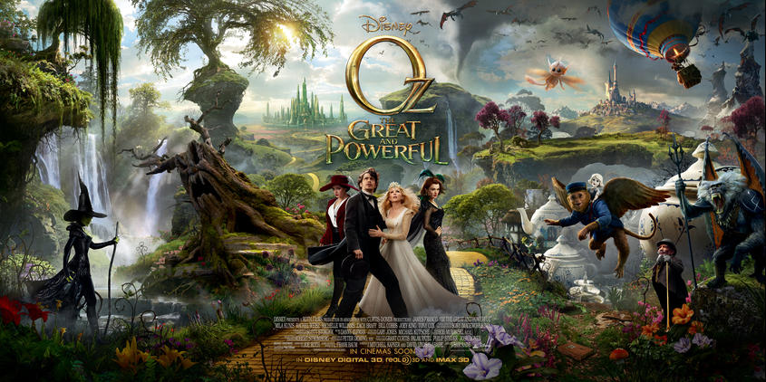 I'm Headed to the Emerald City to see Oz the Great and Powerful — Well, Sort Of! #disneyozevent