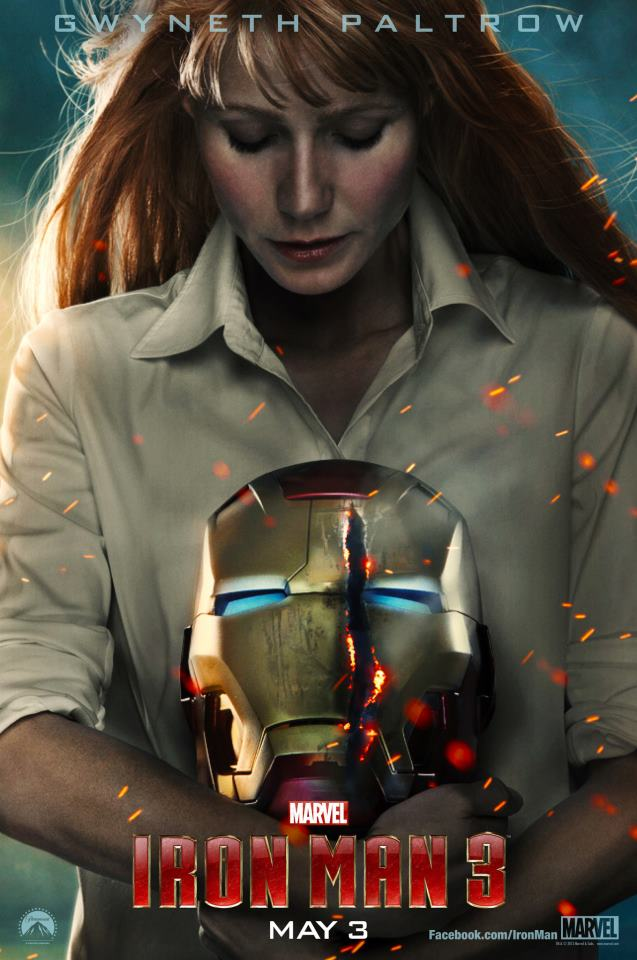 Check Out the Newest Trailer and Posters from Iron Man 3