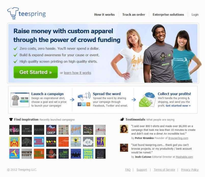 A Great Way to Raise Money for Your Cause with TeeSpring