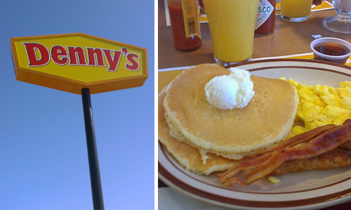 Denny's #BYOPancakes are Back and as Delicious as Ever