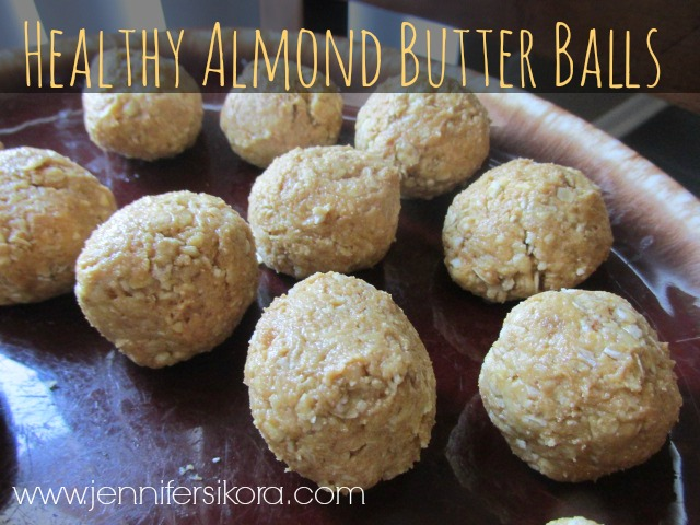 Healthy Almond Butter Balls