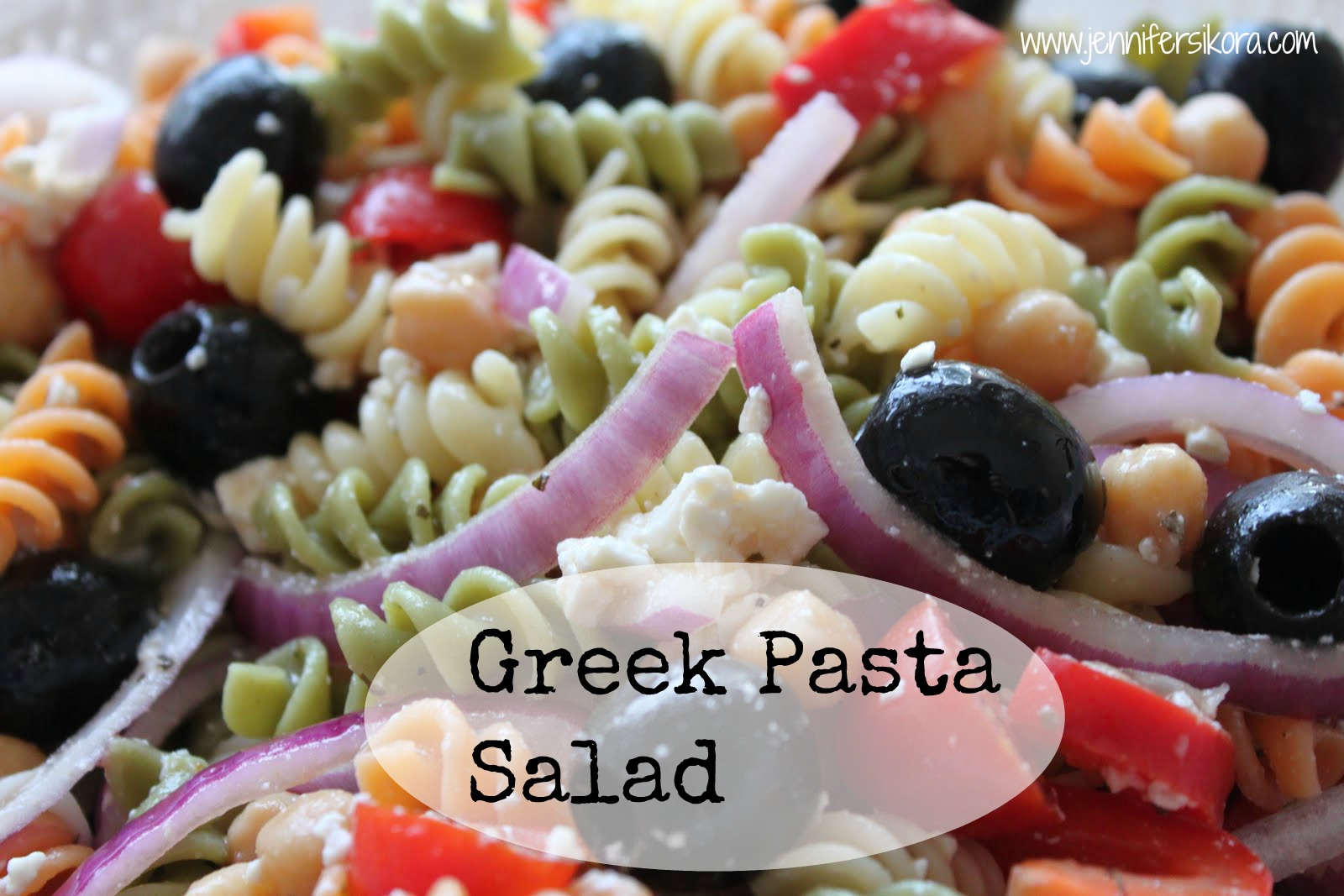 Greek Pasta Salad – Another SRC Recipe