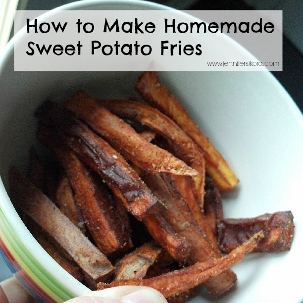 Homemade Sweet Potato Fries