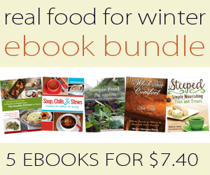 Ebook Bundle of the Week – Real Food for Winter
