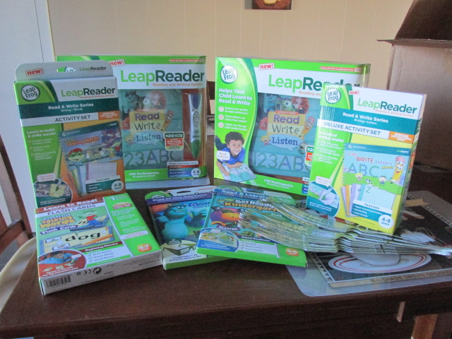LeapReader is Great Ways to Teach Your Little Ones #giveaway