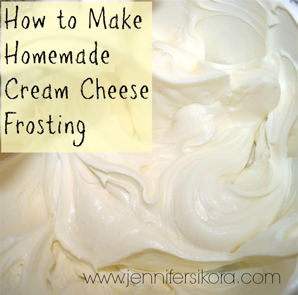 How To Make Homemade Cream Cheese Frosting