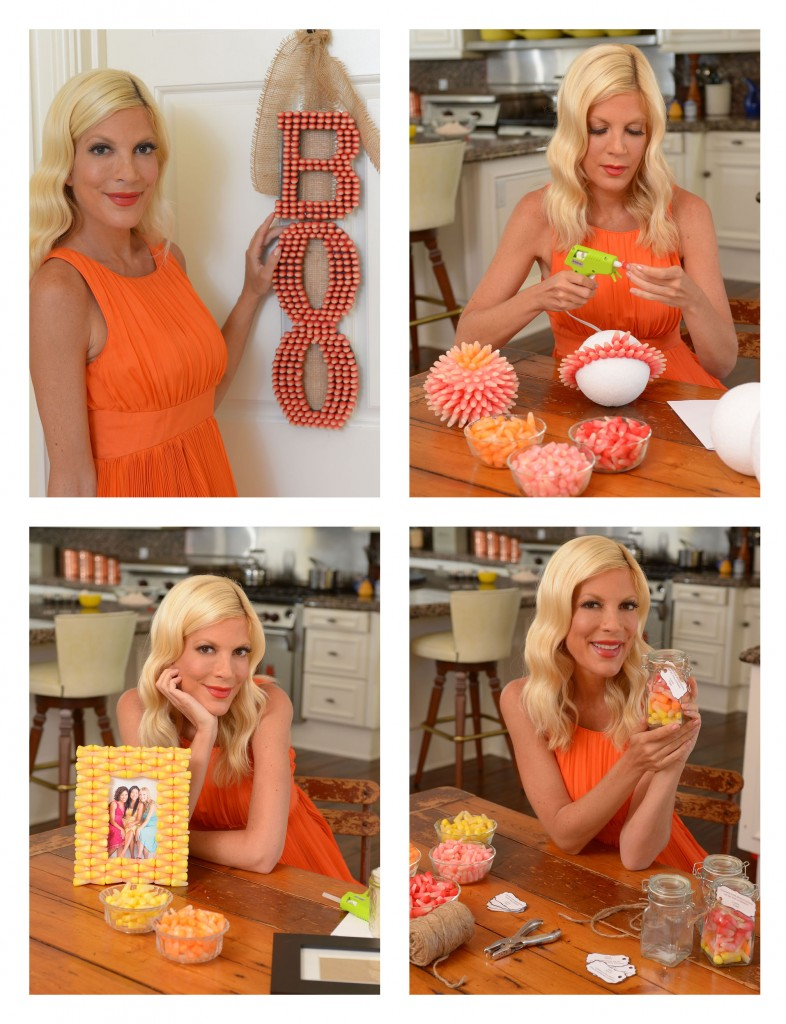 Starburst Candy Corn and Tori's Tasty Tips for Halloween Entertaining.