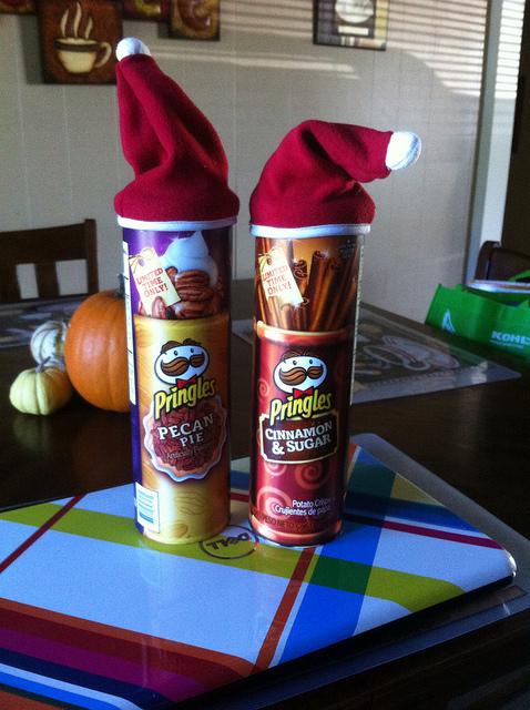 Pringles® New Holiday Flavors are Now Available