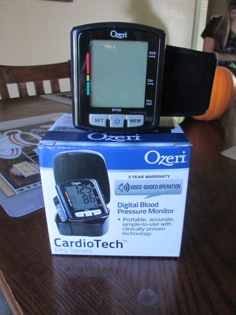 Keeping Your Blood Pressure Checked with the Ozeri Blood Pressure Monitor