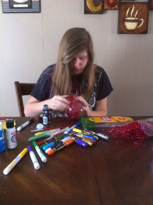 Crafting with Crayola