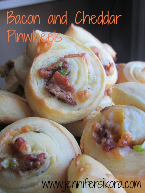 Bacon and Cheddar Pinwheels