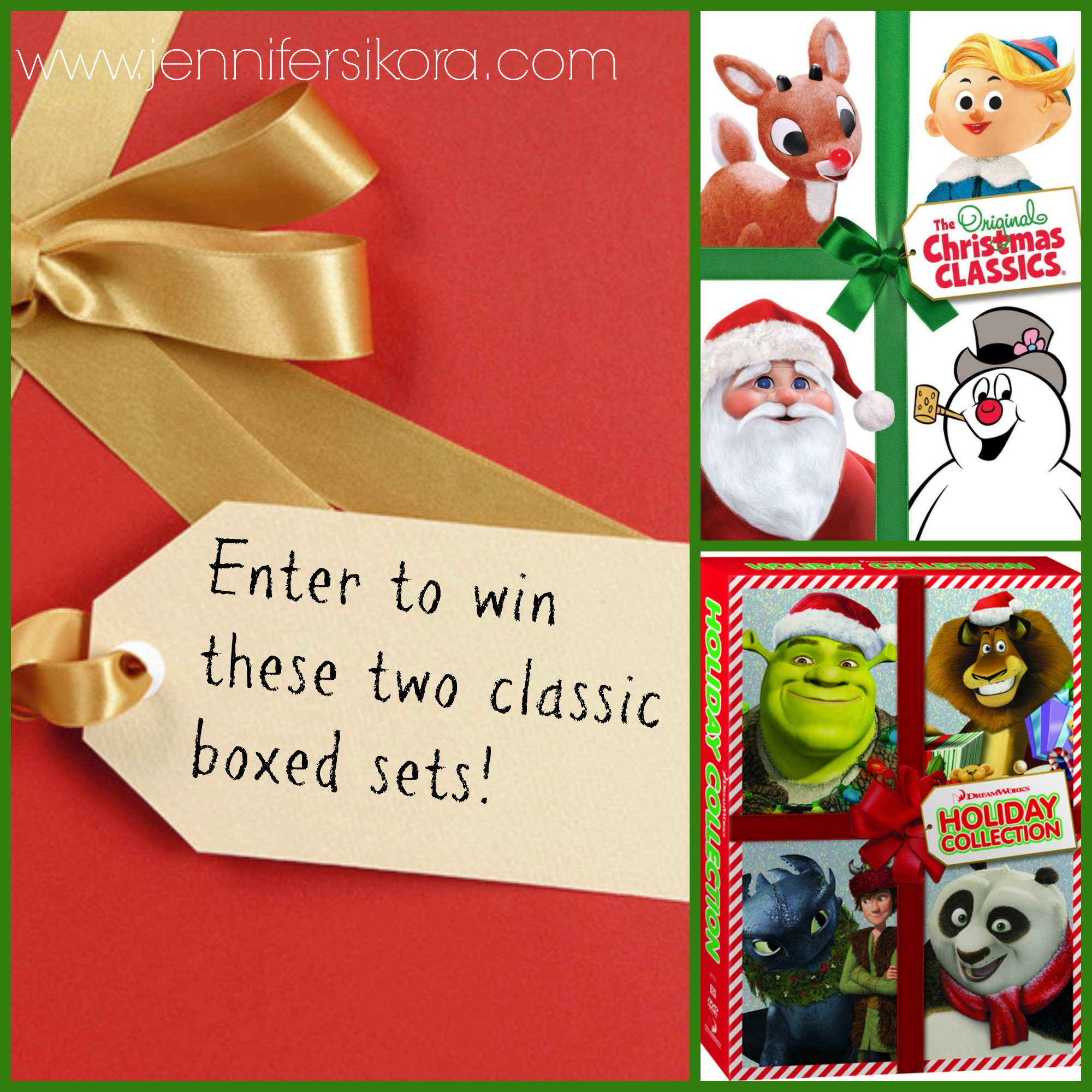 Christmas Classics and Dreamworks Christmas Movie Giveaway