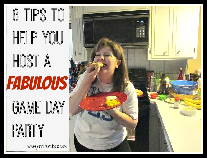 6 tips to help you throw and host a fabulous game day party without all of the stress #GameTimeGoodies #Shop #Cbias