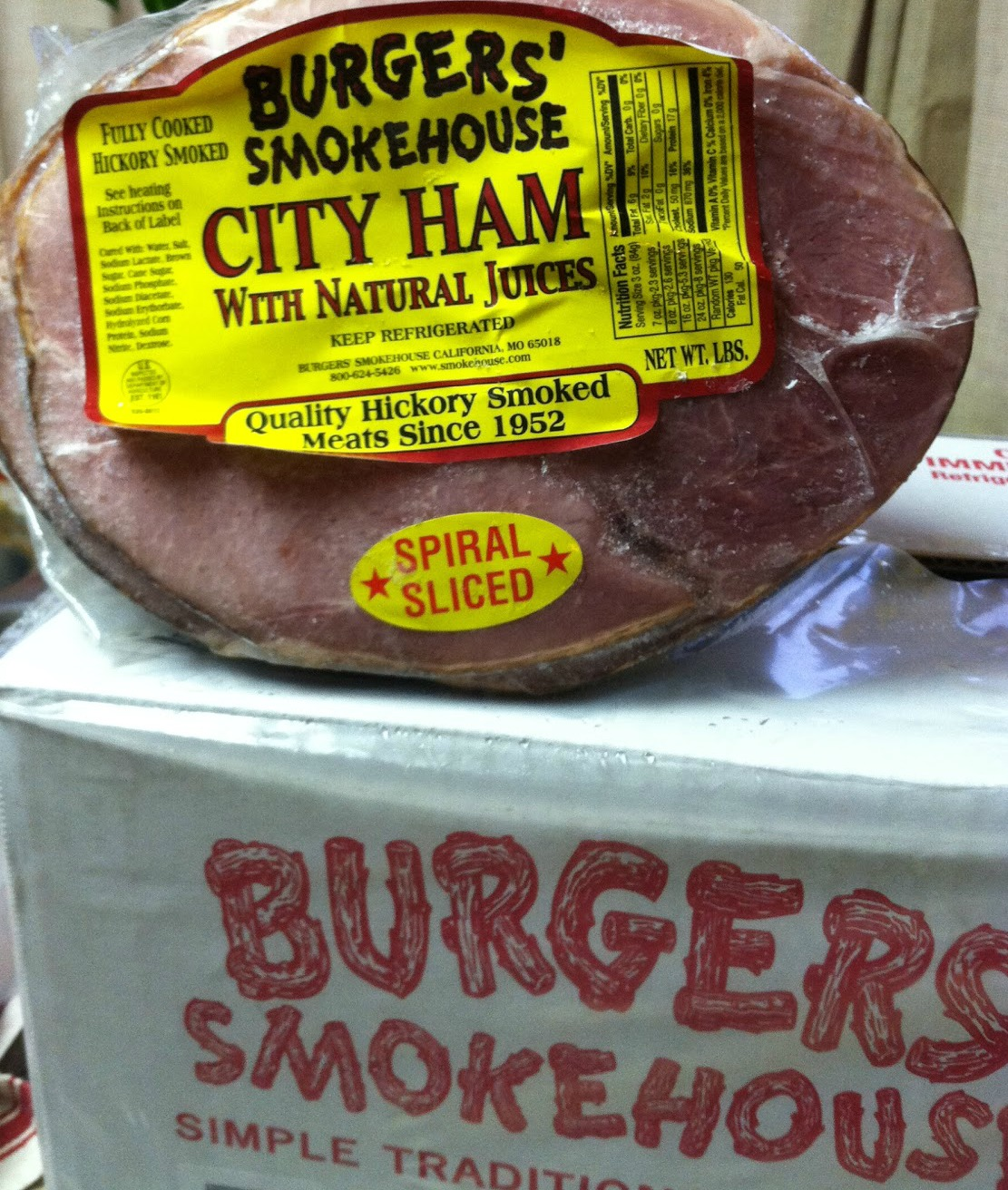 Have a Special Occasion Coming Up? Order a Burger's Smokehouse City Ham
