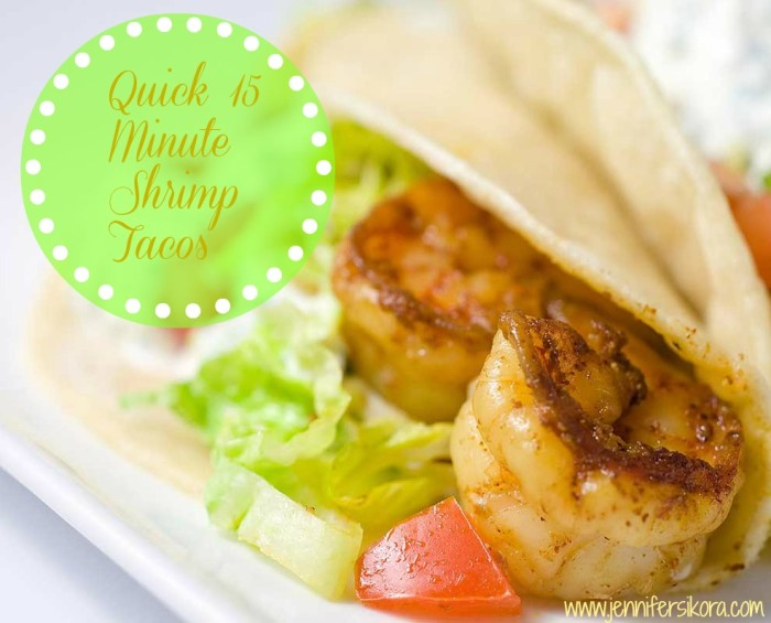 shrimp-tacos #15minutesuppers