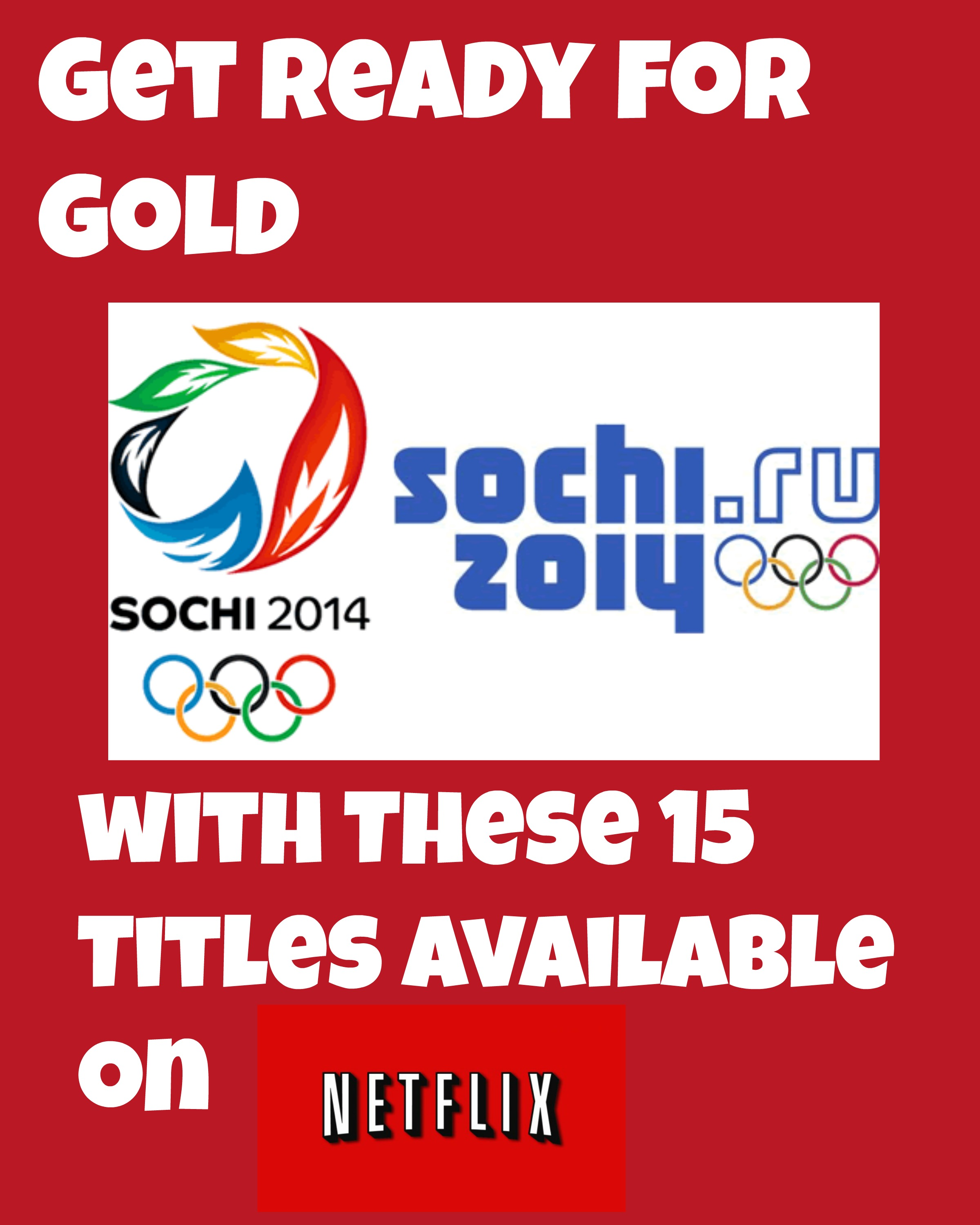 Get Ready for Gold with These 15 Titles Available on Netflix #StreamTeam