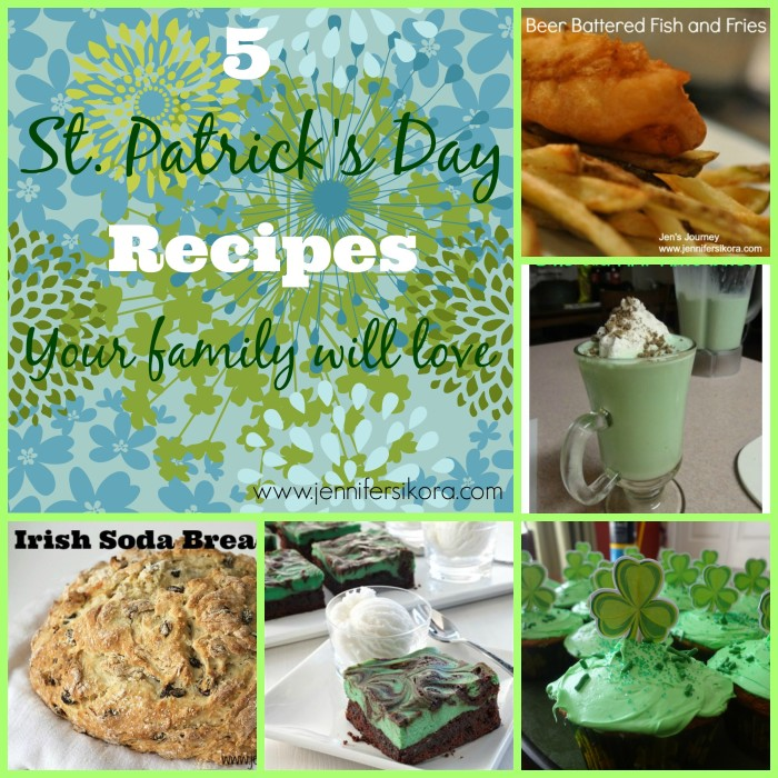 5 St. Patrick's Day Recipes Your Family Will Love