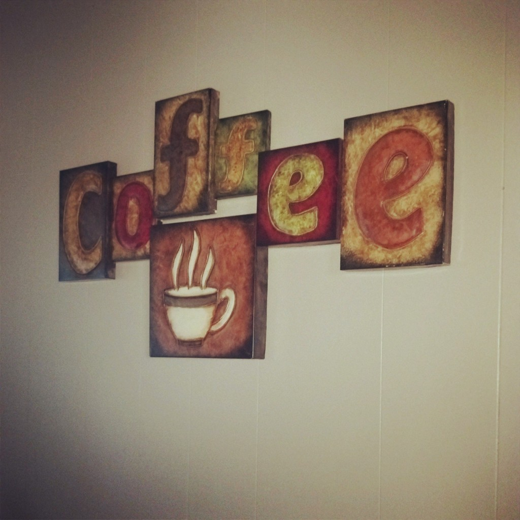 Updating My Kitchen with New Coffee Wall Hangings