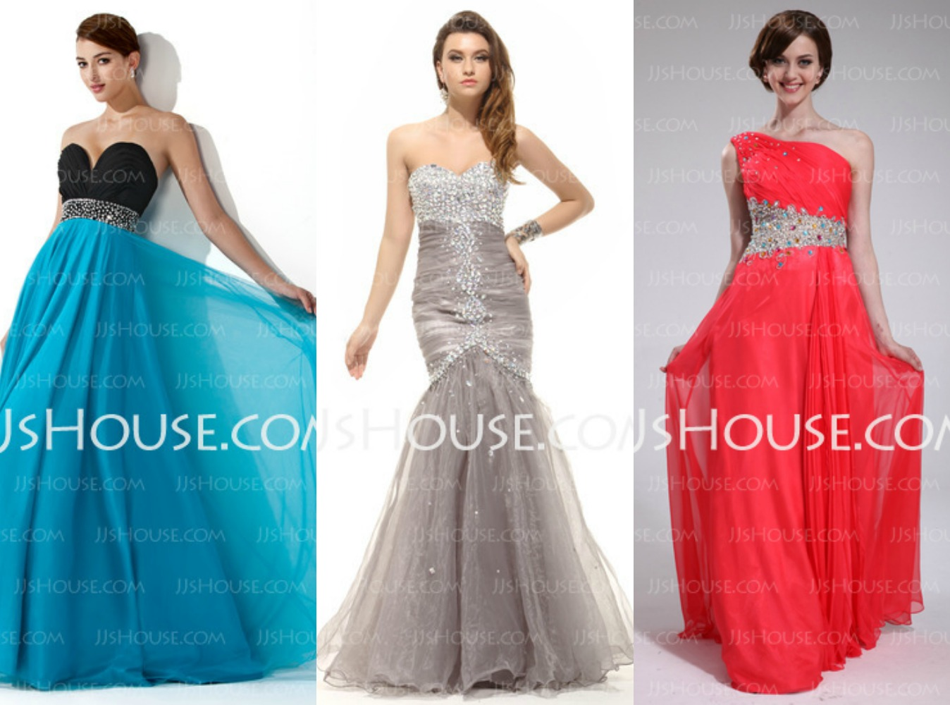 Gorgeous and Modest Prom Dresses from JJsHouse