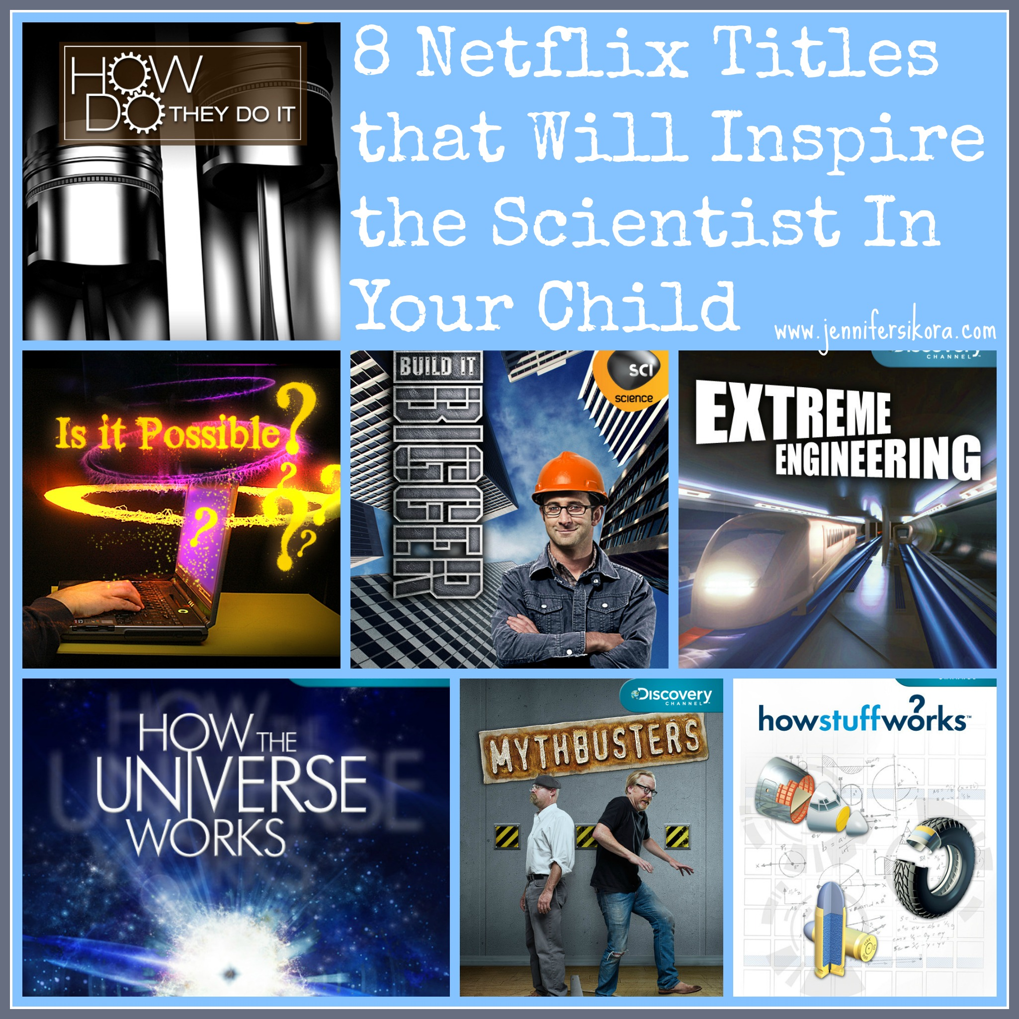 Get Science Fair Inspiration from These 12 Titles on Netflix #StreamTeam #NetflixKids