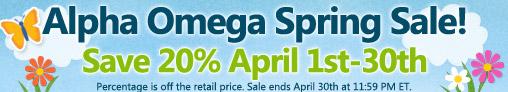 Get 20% Off Your Spring Order from Alpha Omega #Homeschooling