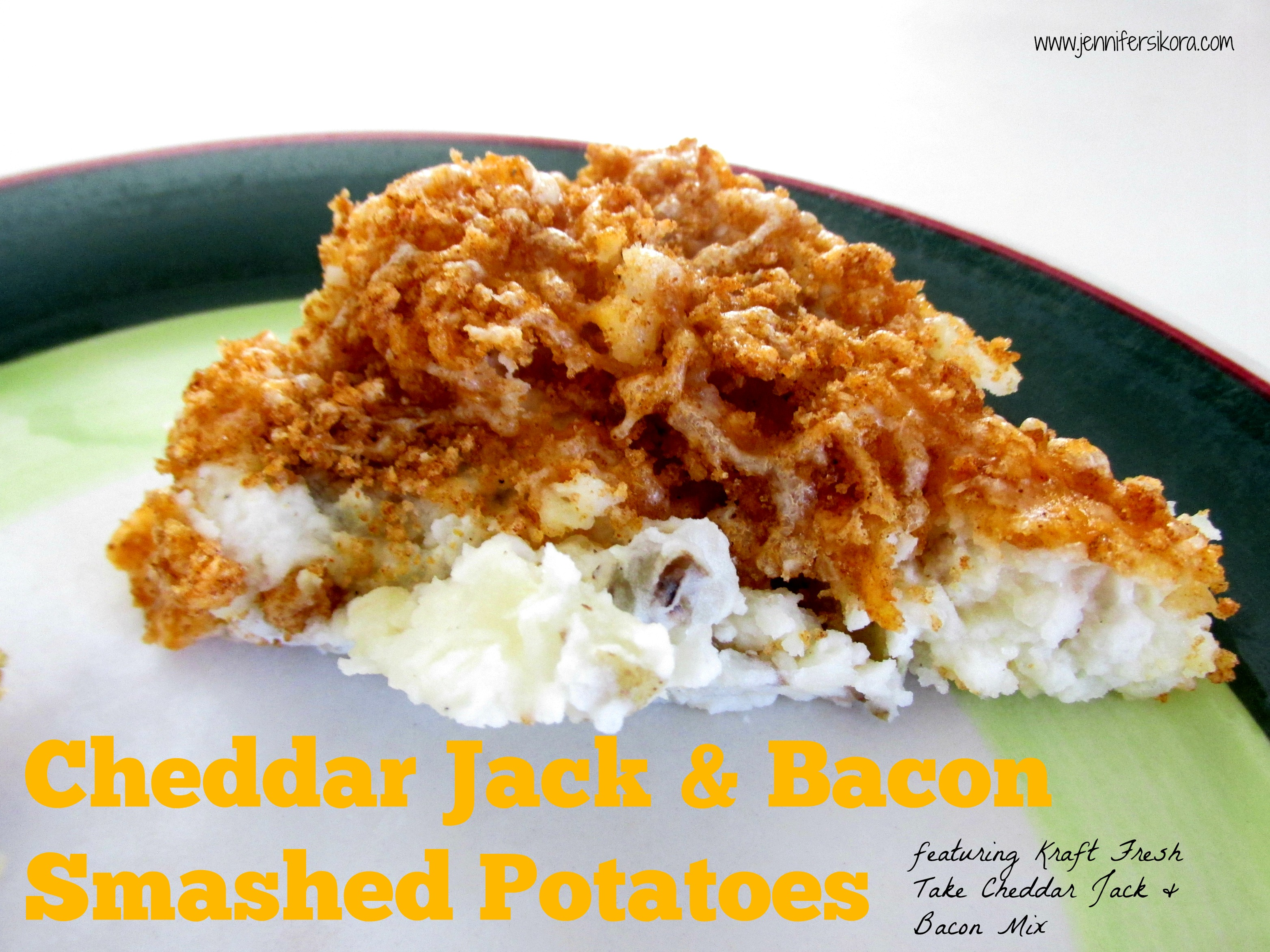 Enjoy Yourself Cooking Easter Dinner Using Kraft Fresh Take + a Yummy Recipe for Cheddar Jack and Bacon Smashed Potatoes#FreshTake #Shop