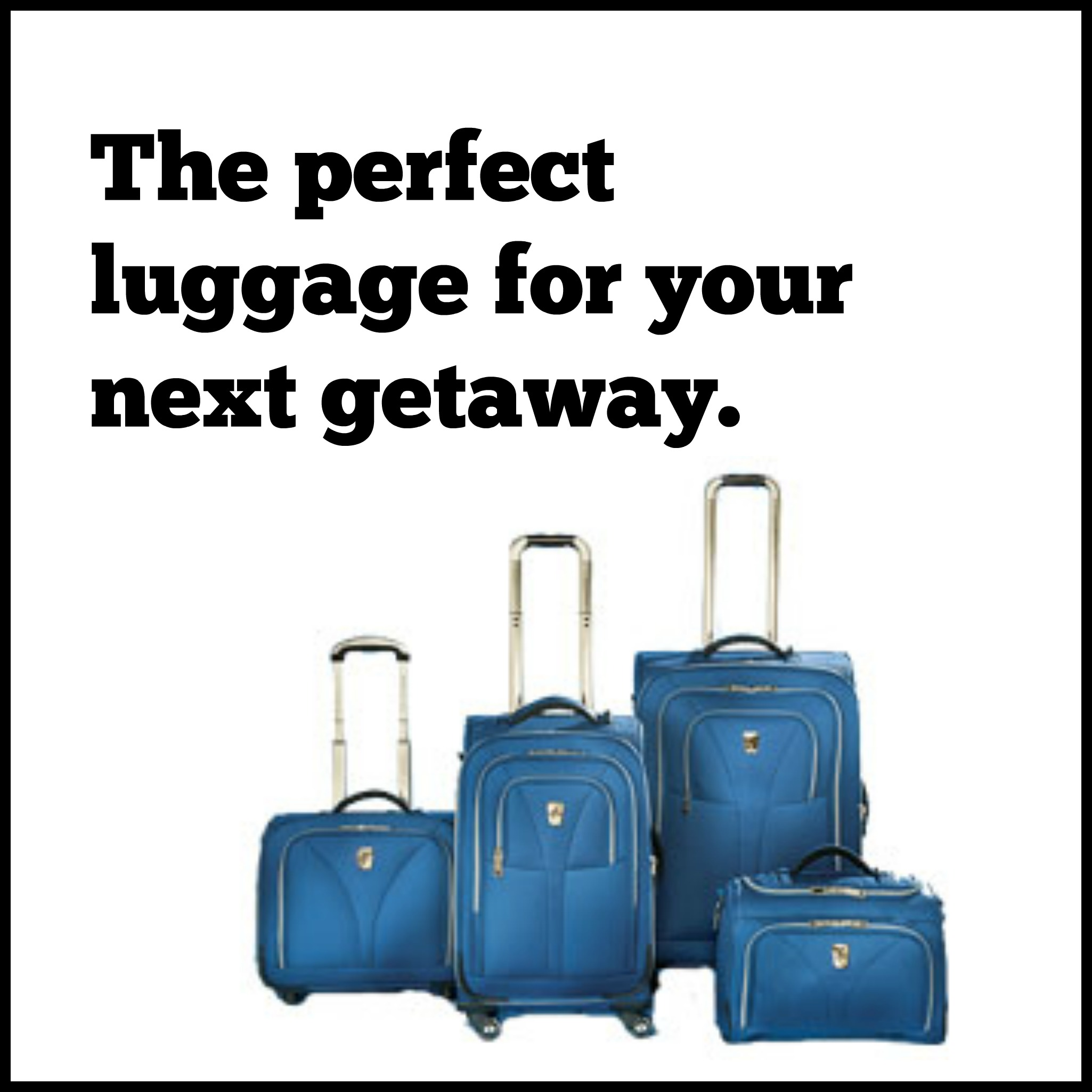 Win a Family Vacation for 4 and travel using Atlantic Luggage #AtlanticLuggage