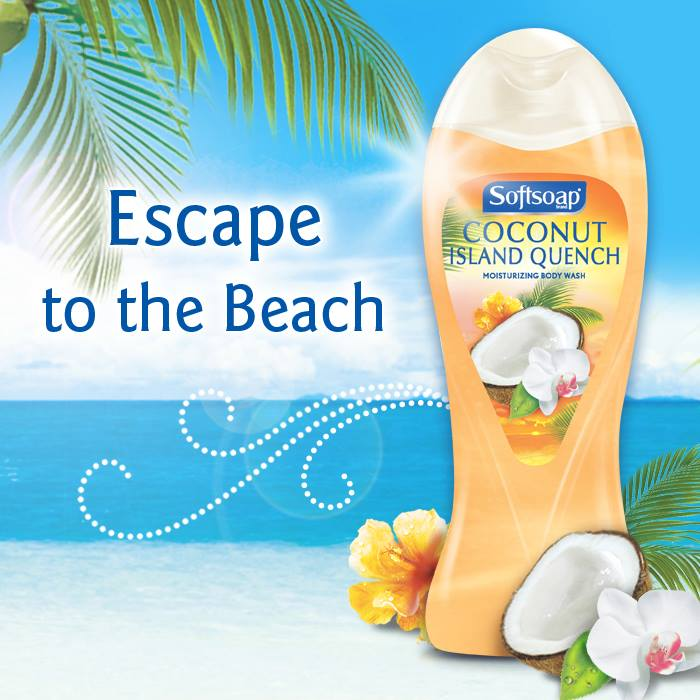Softsoap's Newest Fragrance Now Available – Coconut Island Quench