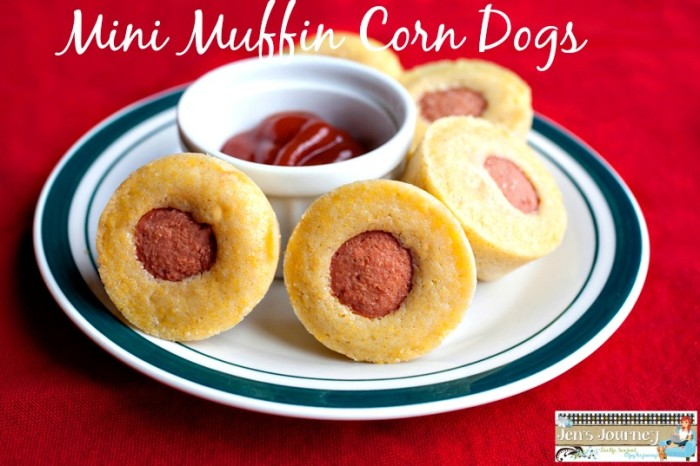 Mini Muffin Corn Dogs