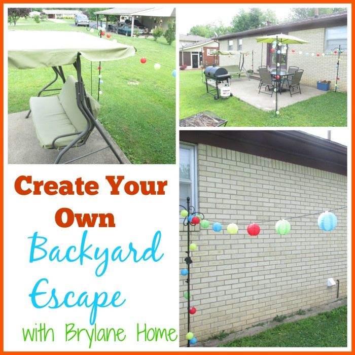 Create Your Own Backyard Escape with Brylane Home