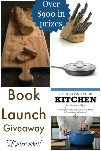 Conquering Your Kitchen Giveaway